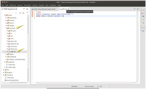 tutorial tcpdf php linuxnomicro instalando o tcpdf no cakephp 2 4