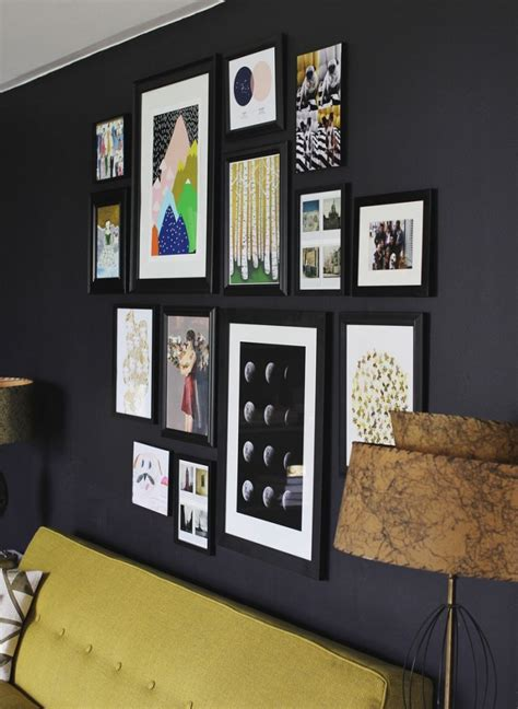 Hang Pictures On Wall why you should be afraid of eclectic gallery art walls