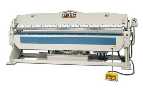 hydraulic sheet metal brake box  pan brake baileigh