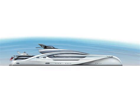 trimaran yacht design a 100 metre trimaran concept by winch design top yacht