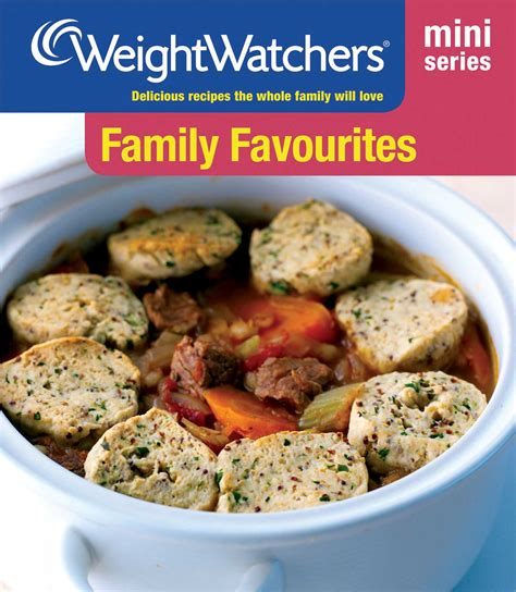 weight watchers mini series family favourites book by