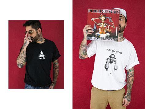 Kaos Wear Hip Hop kaos clothing quot choices quot primavera ver 227 o 2017 streetwear