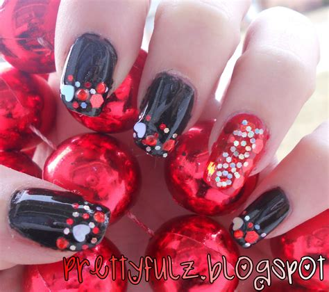pictures of nail designs for valentines day prettyfulz s day nail design xoxo