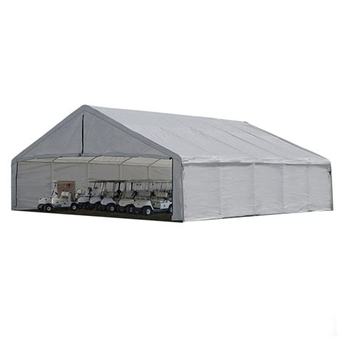 Shelterlogic Shed Replacement Covers shelterlogic shelterlogic 30x30 canopy white replacement cover for 2 3 8 quot frame fr
