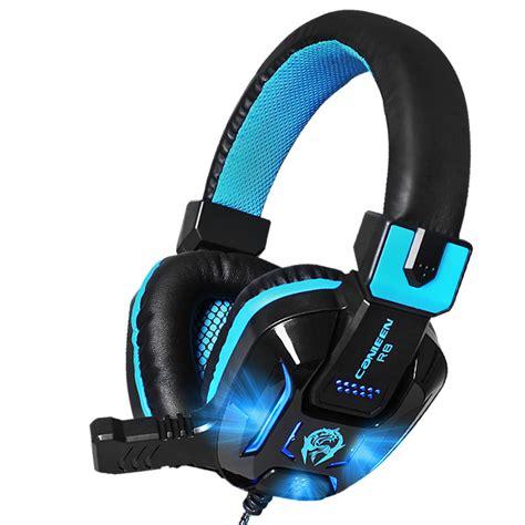 Headset Gaming 100 Ribuan 2017 new 100 original gaming headset wired earphone gamer headphone with microphone led noise