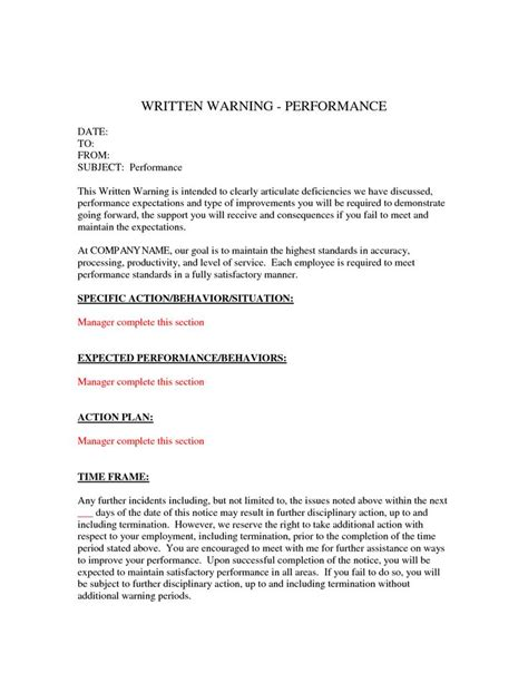 written warning template written warning template by financedude voice sinus