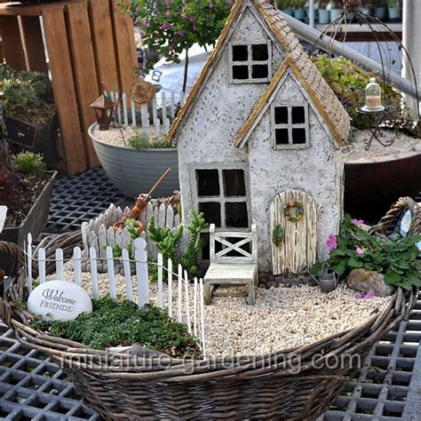 miniature gardening com cottages c 2 welcome to the cottage fairyhouses miniature gardening