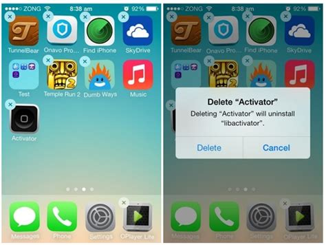 how to uninstall an app on iphone how to delete apps from iphone or ipod touch