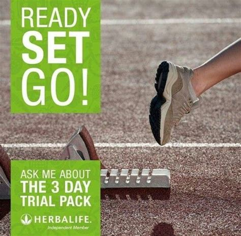 Member Teh Herbalife jump start with you 3 day trial pack to get you stated