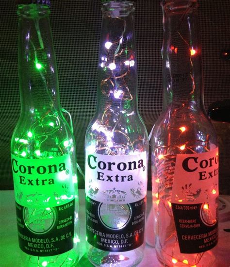 corona bottle with lights friends mexican