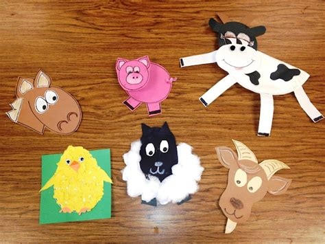 farm animal crafts for free templates for farm animal crafts farm theme