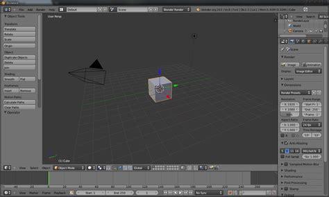 Blender Hello tutorial blender hello world 01 blender
