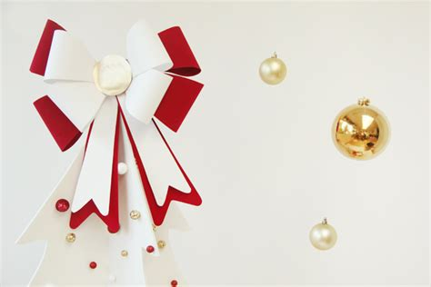 christmas bow topper diy diy bow tree topper