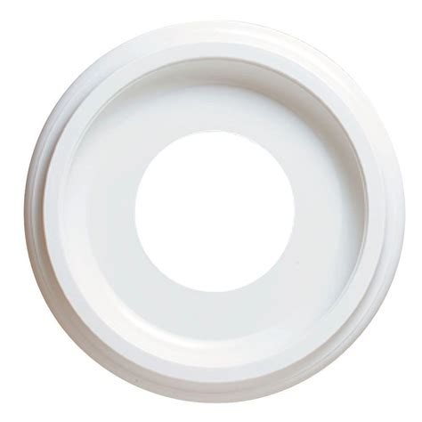 westinghouse 10 in smooth white ceiling medallion 77037