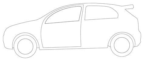 doodle viewer 42 car outline clip
