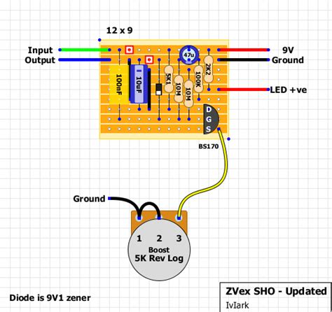 zener diode guitar pedal guitar fx layouts zvex on