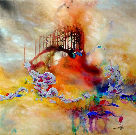 peinture tableau abstrait