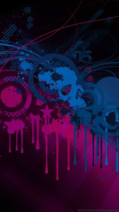 whatsapp skull themes 32 best fondos whatsapp decorativos images on pinterest