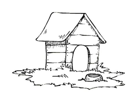 exceptional portrait about coloring pages of dog houses
