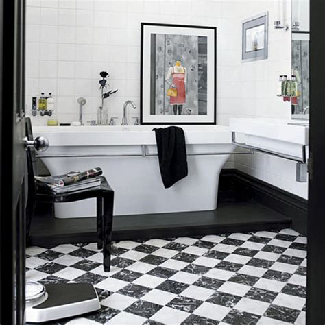 Black And White Bathroom Decorating Ideas | 51 cool black and white bathroom design ideas digsdigs
