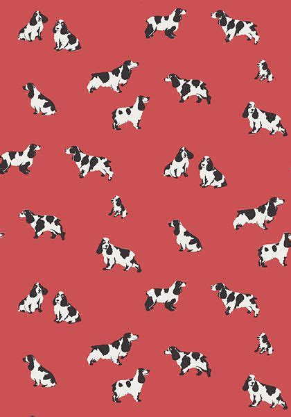black and white novelty wallpaper purebred wallpaper in red the adorable pups in purebred
