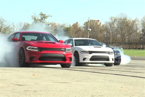 charger hellcat burnout hellcat burnout compilation is a tire squealing trip into