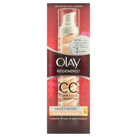 Olay Cc olay regenerist cc complexion corrector for medium skin tone 50ml ebay