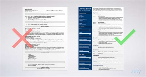 Sql Developer Resume by Sql Developer Resume Sle And Complete Guide 20 Exles