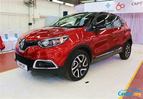 renault malaysia 2017 renault captur ckd launched in malaysia rm109k