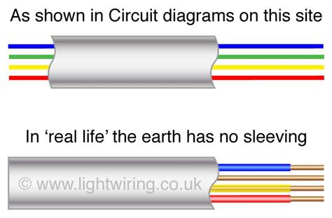 uk house wiring colours old lighting circuit cable colours unharmonised light wiring