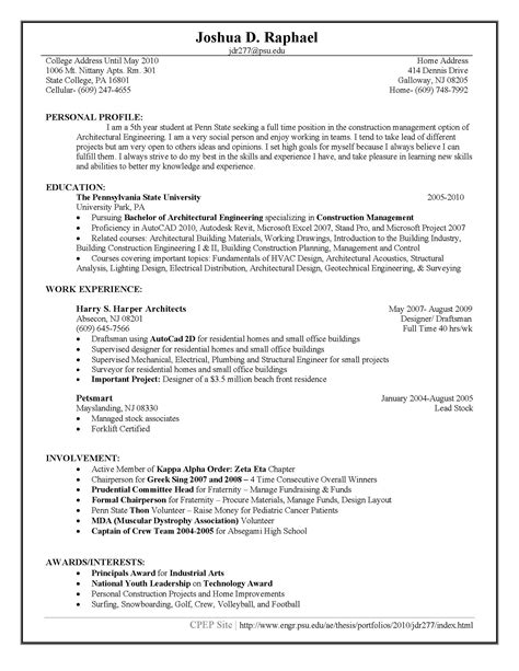 E Resume Guidelines by E Resume Guidelines Krida Info