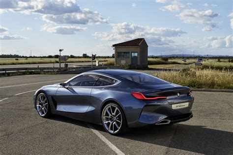 bmw 2018 8 series coupe concept bmw unveils 8 series