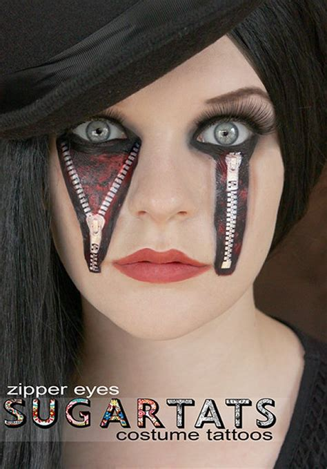 temporary eye tattoos archives creepbay