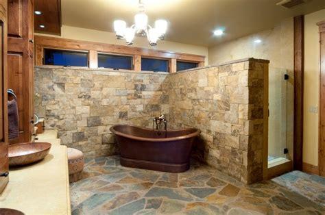 rustic bathrooms ideas 30 ideas de decoraci 243 n para ba 241 os r 250 sticos peque 241 os