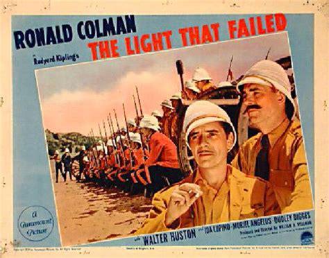 the light that failed the light that failed 1939 u s card posteritati