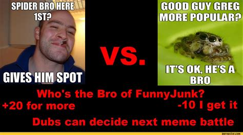 Funnyjunk Memes - 101who s the bro of funnyjunk 20 for moredubs can decide