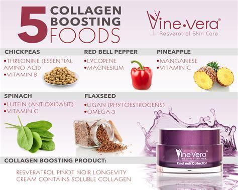 Top Collagen vine vera review top 5 collagen boosting foods