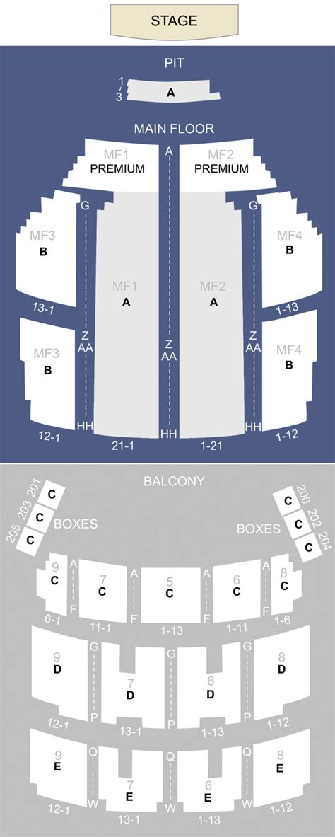 orpheum theater mpls seating orpheum theater minneapolis mn seating chart stage