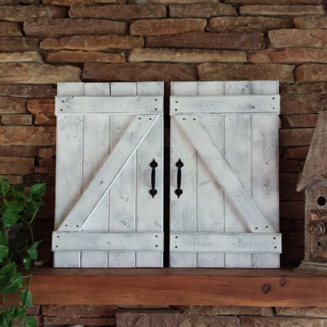 Barn Door Wall Farmhouse Shutters Diy Wood Shutters Exterior Types Of Board And Batten Shutters To Give With