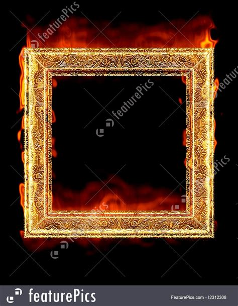 red hot fire templates red hot fire frame stock picture i2312308 at