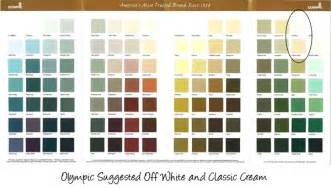 Magnificent olympic paint color chart 381737 home design ideas