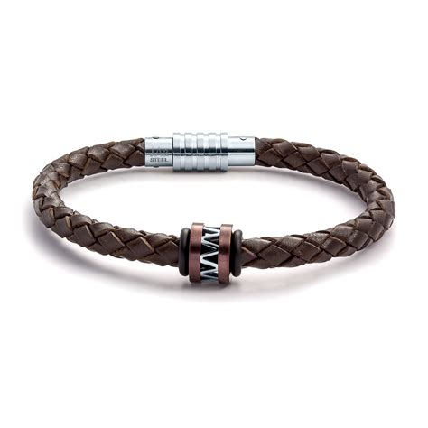 mens bracelets aagaard mens jewelry leather bracelet no 1244 landing