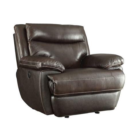 Recliner With Usb Port coaster macpherson recliner with usb charging port 601813p