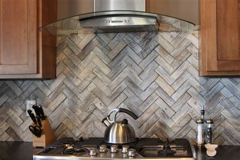 kitchen backspash tiles how about wood like tile backsplash for your kitchen