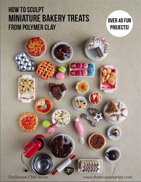Miniature Cooking With Master miniature food polymer clay tutorial how to sculpt miniature