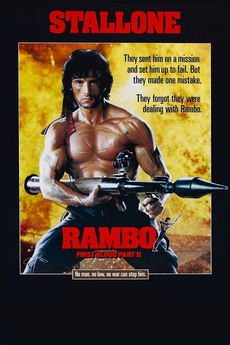 rambo film poster rambo first blood part ii dvd release date