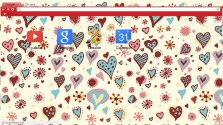 chrome themes hipster 14 fun and romantic google chrome heart themes for