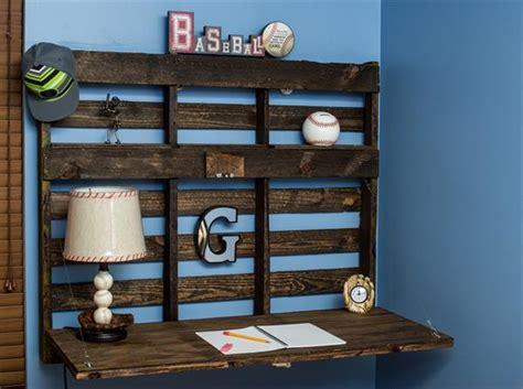 diy fold desk diy pallet wall folding desk pallet furniture plans