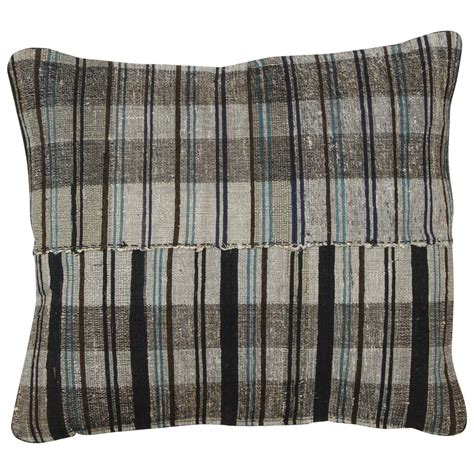Rug Pillow by Japanese Rag Rug Pillow At 1stdibs