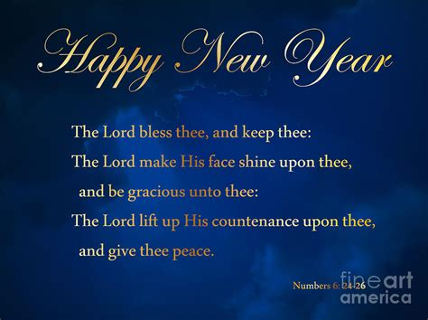 christian new year blessings new year blessing photograph by oakley